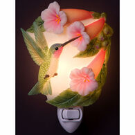 Ibis & Orchid Design Hummingbird And Trumpet Nightlight