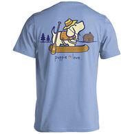 Puppie Love Women's Lake Pup Short-Sleeve T-Shirt