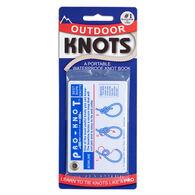J E. Sherry Pro-Knot Outdoor Knot-Tying Card Set