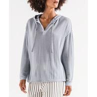 Z Supply Women's Breezy Rib Long-Sleeve Hoodie