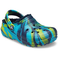 Crocs Boys & Girls' Classic Lined Marbled Clog