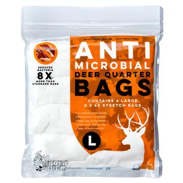 Koola Buck Anti-Microbial Deer Quarter Body Bag - 4 Pk.