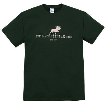 NH Fish and Game Men's Moose Short-Sleeve T-Shirt