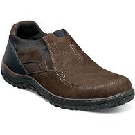 Nunn Bush Men's Quest Moc Toe Slip-On Shoe