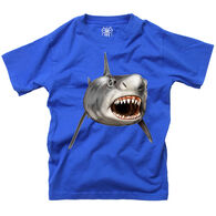 Wes And Willy Boy's Shark Short-Sleeve T-Shirt