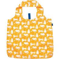 Rockflowerpaper Kitty Cats Yellow Reusable Blu Bag