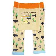 Huggalugs Infant/Toddler Happy Little Camper Knit Pant