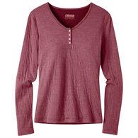 Mountain Khakis Women's Virginia City Henley Long-Sleeve Shirt