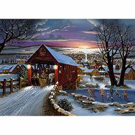 LPG Greetings Covered Bridge Boxed Christmas Cards