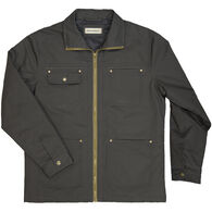 Dakota Grizzly Men's Flint Cotton Canvas Quilt-Lined Jacket