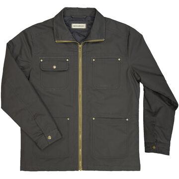 Dakota Grizzly Mens Flint Cotton Canvas Quilt-Lined Jacket