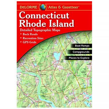 DeLorme Connecticut & Rhode Island Atlas & Gazetteer