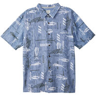 O'Neill Men's Jack O'Neill King Fisher Short-Sleeve Shirt
