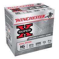 "Winchester Super-X High Brass 16 GA 2-3/4"" 1-1/8 oz. #7-1/2 Shotshell Ammo (25)"
