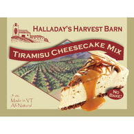 Halladay's Harvest Barn Tiramasu Cheesecake Mix