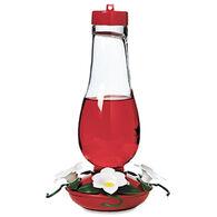 Audubon Hurricane Glass Hummingbird Bird Feeder