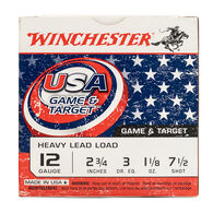 "Winchester USA Game & Target 12 GA 2.75"" 1-1/8 oz. #7.5 Shotshell Ammo (250)"