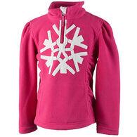 Obermeyer Girls' Snowcrystal Fleece Quarter Zip Pullover