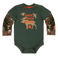 Carhartt Infant/Toddler Boys' Duck Duck Moose Bodyshirt