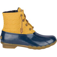 Sperry Women's Saltwater Quilted Chevron Duck Boot