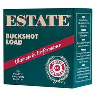"""Estate 12 GA 2-3/4"""" 9 Pellet 00 Buckshot Shotshell Ammo (25)"""