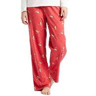 Life is Good Women's Winter Rocket Jersey Sleep Pant
