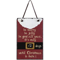 Timeless By Design Christmas Countdown Slate