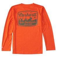 Carhartt Boys' Force Get Outdoors Long-Sleeve T-Shirt