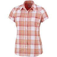 Columbia Women's Silver Ridge Multi-Plaid Short-Sleeve Shirt