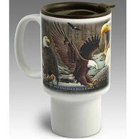 American Expedition Eagle Stoneware Travel Mug