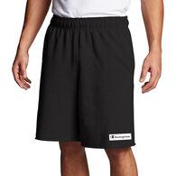 Champion Men's Powerblend Graphic Knockout Logo Fleece Short