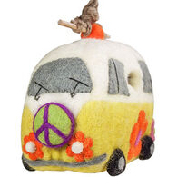 Wild Woolies Magic Bus Hand-Felted Birdhouse