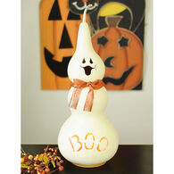 Meadowbrooke Gourds Jake Small Tall Lit Ghost Gourd