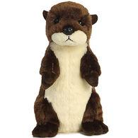 "Aurora River Otter 14"" Plush Stuffed Animal"