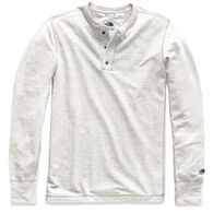 The North Face Men's TNF Terry Henley Long-Sleeve Shirt