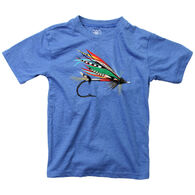 Wes And Willy Boy's Fishing Lure Short-Sleeve T-Shirt