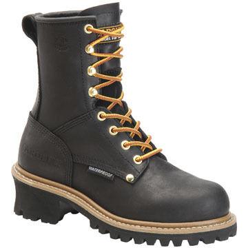Carolina Womens Waterproof Steel Toe Logger Boot