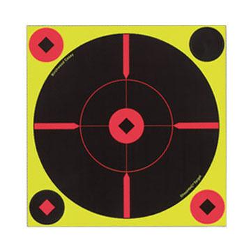 """Birchwood Casey Shoot-N-C Self-Adhesive 8"""" Round X Target - 6 Pk."""