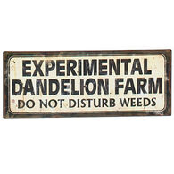 Upper Deck Dandelion Sign