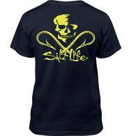 Salt Life Youth Skull Hooks Short-Sleeve T-Shirt