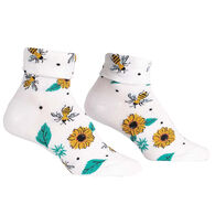 Sock It To Me Women's Yas Queen Turn Cuff Crew Sock