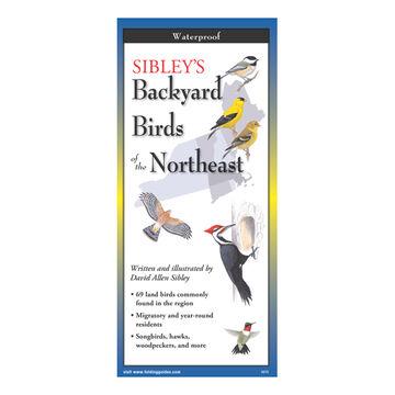Sibley's Backyard Birds of the Northeast: FoldingGuides