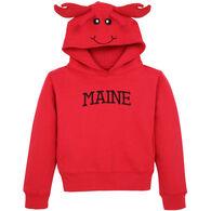 Wild Child Hoodies Boys' & Girls' Red Lobster Hooded Sweatshirt