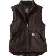 Carhartt Women's Sherpa-Lined Mock Neck Vest