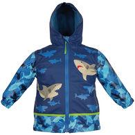 Stephen Joseph Boy's Shark Rain Jacket