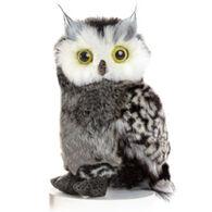 Aurora Barney Grey Owl Plush Stuffed Animal