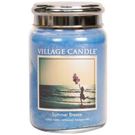 Village Candle Large Glass Jar Candle - Summer Breeze