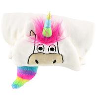 Lazy One Kids Unicorn Critter Hooded Blanket