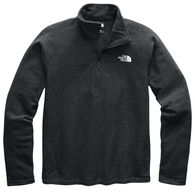 The North Face Men's Textured Cap Rock 1/4-Zip Fleece Shirt