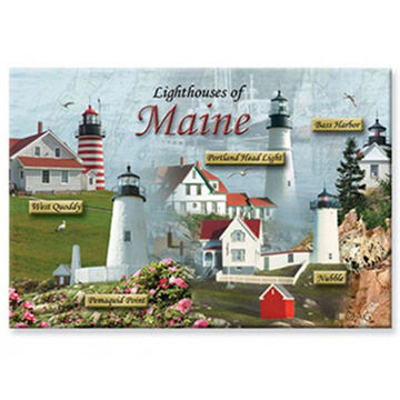 Cape Shore Lighthouses of Maine Magnet